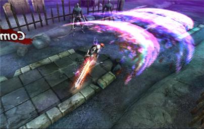 钢铁骑士团剑气发射